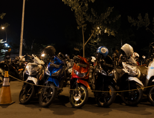 Should you drive a motorcycle when in Indonesia?